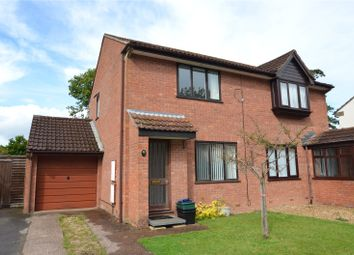 Thumbnail 3 bed semi-detached house for sale in Beech Close, Willand, Cullompton, Devon