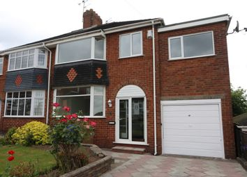 Thumbnail 4 bedroom semi-detached house for sale in Englesea Avenue, Weston Coyney