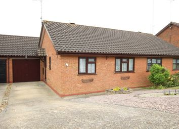 Thumbnail 2 bed semi-detached bungalow for sale in Chequers Rise, Great Blakenham, Ipswich, Suffolk