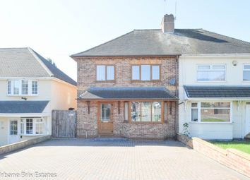 Thumbnail 3 bed semi-detached house for sale in Crome Road, Birmingham