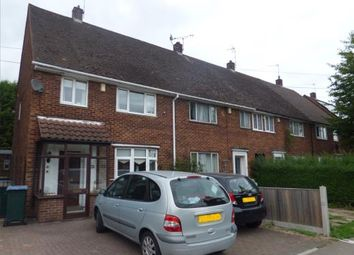 Thumbnail 3 bed end terrace house for sale in Prior Deram Walk, Canley, Coventry, West Midlands