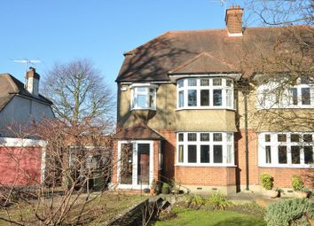 Thumbnail 4 bed semi-detached house for sale in Leatherhead Road, Ashtead