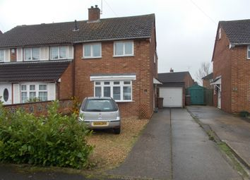 Thumbnail 3 bed semi-detached house for sale in Oakwood Drive, Luton
