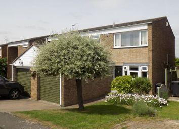 Thumbnail 3 bedroom end terrace house for sale in Berton Close, Blunsdon, Swindon