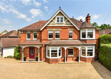 Thumbnail 5 bed detached house for sale in Gordon Avenue, Camberley, Surrey