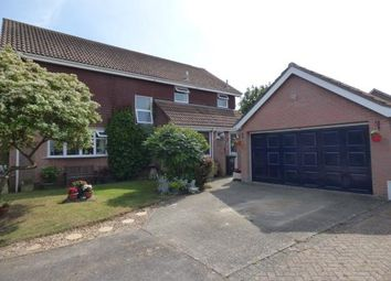 Thumbnail 4 bedroom detached house for sale in Sea View Road, Hayling Island