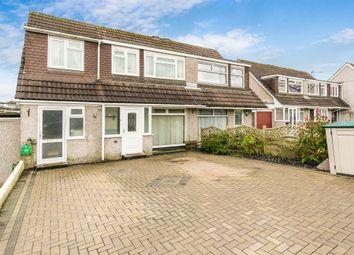 Thumbnail 3 bed semi-detached house for sale in Torbridge Close, Saltash