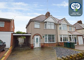 Woodside Avenue South, Green Lane, Coventry CV3. 3 bed semi-detached house for sale