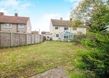Thumbnail 3 bed semi-detached house for sale in Angus Close, Ipswich