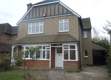 Thumbnail 4 bed detached house to rent in Hill Side, Cheam