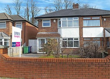 Thumbnail 3 bed semi-detached house for sale in Station Road, Woolton, Liverpool, Merseyside