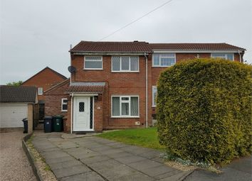 Thumbnail 3 bed semi-detached house to rent in Bakewell Green, Newhall, Swadlincote, Derbyshire