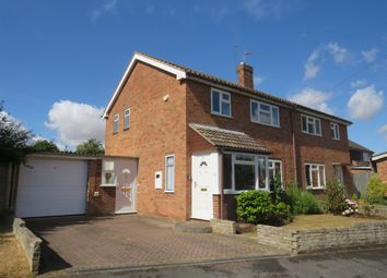 Thumbnail 3 bed semi-detached house for sale in St James Avenue, Wellesbourne, Warwick