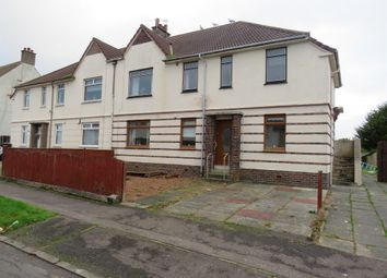 Thumbnail 3 bed flat for sale in Lainshaw Avenue, Kilmarnock
