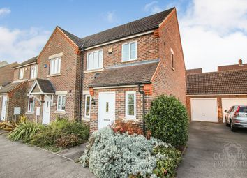 Thumbnail 3 bed end terrace house for sale in Peacock Road, Bromham, Bedford