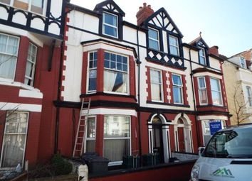 Thumbnail 1 bed flat for sale in Curzon Road, Llandudno, Conwy