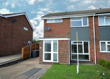 Thumbnail 3 bed semi-detached house to rent in Earls Close, Old Felixstowe, Felixstowe