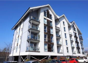 Thumbnail 1 bed flat for sale in Phoebe Road, Swansea