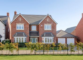 Thumbnail 5 bed detached house for sale in Twain Gardens, Chase Meadow, Warwick, Warwickshire