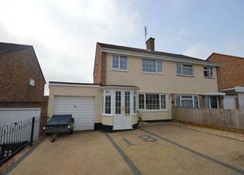 Thumbnail 3 bed semi-detached house for sale in Little Meadow, Exmouth