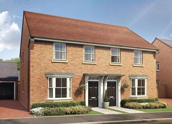 "Thumbnail 3 bed semi-detached house for sale in ""Strathmore"" at Braishfield Road, Braishfield, Romsey"