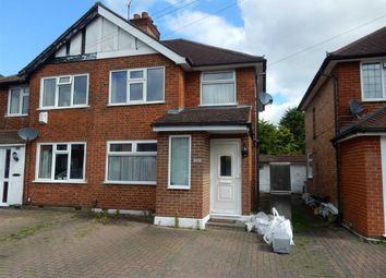 Thumbnail 3 bed semi-detached house to rent in Harvey Road, Uxbridge, Middlesex