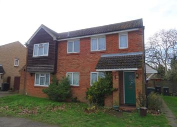 Thumbnail 1 bed mews house to rent in Orchard Close, Biggleswade