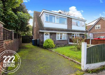 Thumbnail 3 bed semi-detached house for sale in Worsborough Avenue, Great Sankey, Warrington