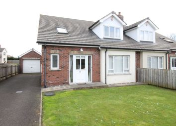 Thumbnail 4 bed semi-detached house for sale in Trailcock Road, Carrickfergus