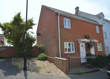 Thumbnail 2 bed terraced house for sale in Lymes Close, Weymouth