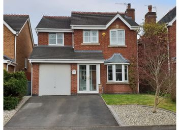 Thumbnail 3 bed detached house for sale in Highland Drive, Stoke-On-Trent