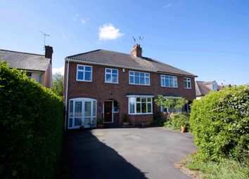 Thumbnail 5 bed semi-detached house for sale in Bradgate Road, Newtown Linford