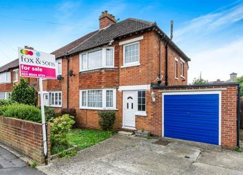 Thumbnail 3 bedroom semi-detached house for sale in Knighton Road, Southampton