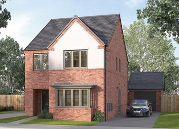 "Thumbnail 4 bed detached house for sale in ""The Finsbury"" at Wallef Road, Brailsford, Ashbourne"