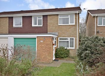 Thumbnail 3 bed semi-detached house for sale in Heather Gardens, Fareham, Hampshire