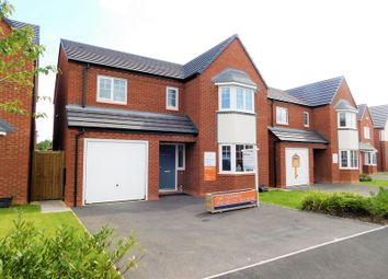 Thumbnail 4 bedroom detached house for sale in Springfield Gardens, Gnosall, Stafford