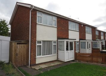 Thumbnail 2 bed end terrace house for sale in Hartshorn Close, Thurmaston, Leicester
