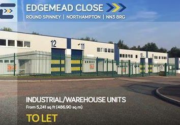 Thumbnail Light industrial to let in Unit 8, Edgemead Close, Round Spinney, Northampton