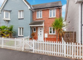 Thumbnail 2 bed semi-detached house for sale in Baker Way, Camber, Rye, East Sussex