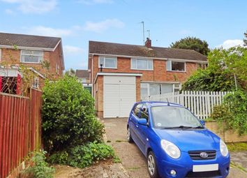 Thumbnail 3 bed semi-detached house to rent in Hawkswood Close, Chilwell, Nottingham