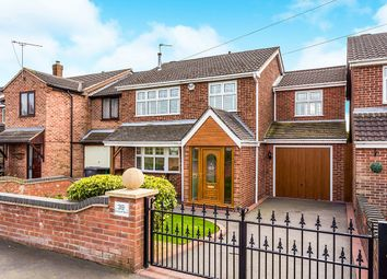 Thumbnail 4 bed detached house for sale in Caldwell Road, Linton, Swadlincote