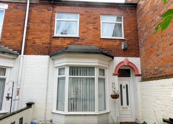 Thumbnail 2 bed terraced house for sale in Western Villas, Franklin Street, Hull