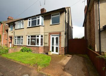 Thumbnail 3 bed semi-detached house for sale in Ruskin Road, Ipswich
