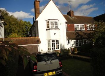 Thumbnail 5 bed terraced house to rent in Ruskins Close, Hampstead Garden Suburb