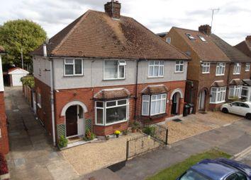 Thumbnail 3 bed semi-detached house for sale in Park Avenue, Houghton Regis, Bedfordshire