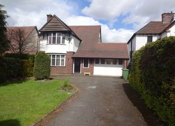 Thumbnail 3 bed detached house to rent in The Crescent, Walsall