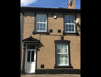 Thumbnail 4 bed terraced house for sale in Upper Park Terrace, Pontypool