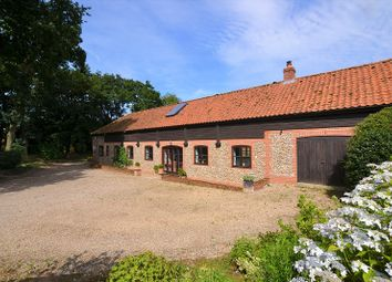 Thumbnail 4 bed barn conversion for sale in Saxthorpe Road, Thurning, Melton Constable, Norfolk.