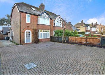 Thumbnail 5 bed semi-detached house for sale in Canterbury Road, Kennington, Ashford, Kent