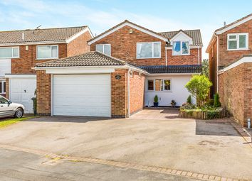 Thumbnail 5 bed detached house for sale in Warwick Close, Desford, Leicester